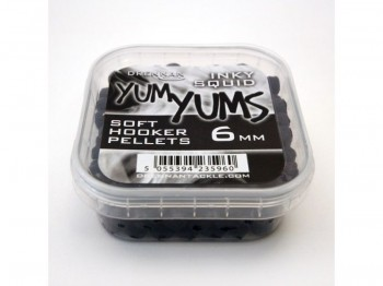 Pellet DRENNAN Soft Hook Yum Yums 6mm Inky Squid