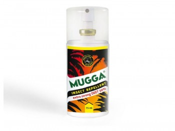 MUGGA Deet Spray 75ml Deet 50%