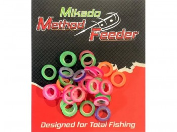 GUMKI MIKADO do pelletu 3mm heavy kolorowe x50